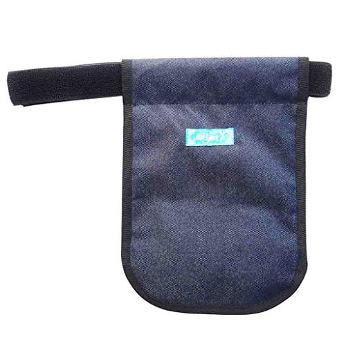 Hcwlxjy Urinary Collection Bag Incontinence Kit Urinary Drainage Catheter Bag Ostomy Bag Holder Elderly Drainage Bag Care Package for Home,Travel,Wheelchair,Bed,Blue,1000ml