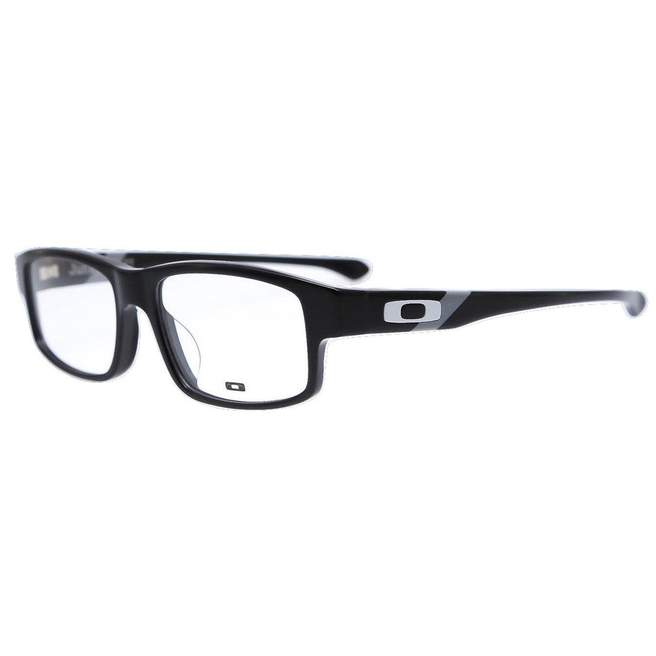 Oakley Asia Fit Junkyard II Precription Eye Glasses - Polished Black/Grey, OX1102-0453