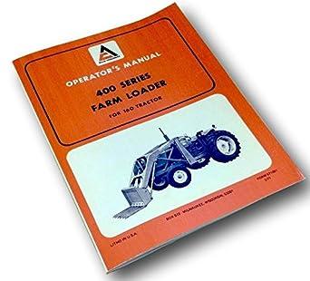 Amazon.com: Allis Chalmers 400 Series - Cargador de granja ...