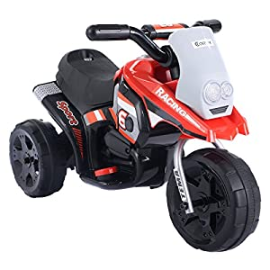 - 51rfdBMJiVL - 6V Kids Ride On Motorcycle Battery Powered 3 Wheel Bicyle Electric Toy New by Youzee