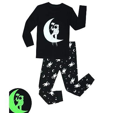 BenCreative Baby Pijama de algodón Ropa de Dormir de Manga Larga para Niños DE 2-8 Años Niños: Amazon.es: Ropa y accesorios