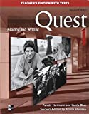quest blass 2 - Quest: Level 1, Teacher's Edition with Tests, 2nd Edition