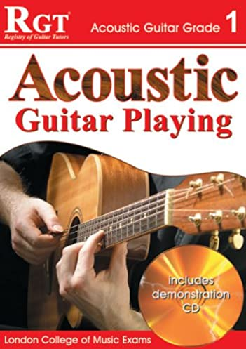 acoustic guitar play grade 1 rgt guitar lessons amazon co uk rh amazon co uk
