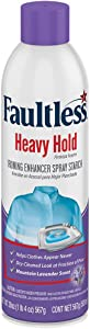 Laundry Starch Spray, Faultless Heavy Lavender Spray Starch 20 oz Cans for a Smooth Iron Glide on Clothes & Fabric Even Spray, Easy Iron Glide, No Reside (Pack of 4)
