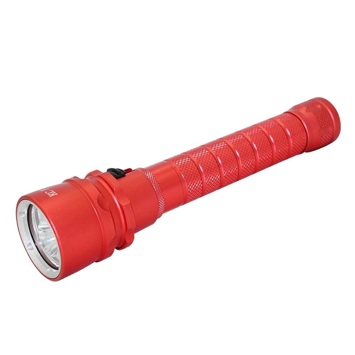 ブロンズシェーバーマチュピチュ懐中電灯 水中ライト ダイビング用 ダイビングライト 4*L2Led 4000LM 電池式 100M 水中対応可能 水泳 プール ダイビング キャンプ ダイビング懐中電灯
