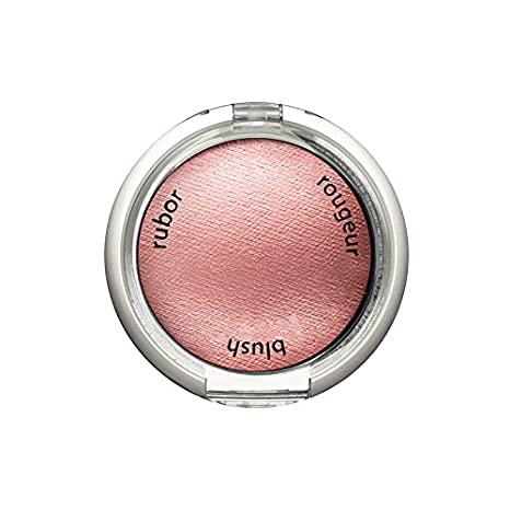 Palladio Baked Blush, Rosey, 2.5g, Highly Pigmented and Shimmery Powder Blush, Apply Dry for Natural Glow or Wet for Dramatic Radiance, Easy to Blend Makeup Blush, Apply Blusher with Blush Brush