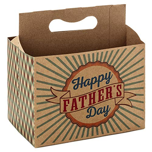 Hallmark Happy Father's Day 6-Pack Bottle Holder