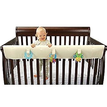 easy teether xl crib rail cover organic