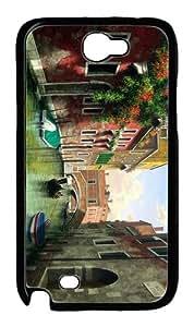 case cool mark petit venice art PC Black case/cover for samsung galaxy N7100/2