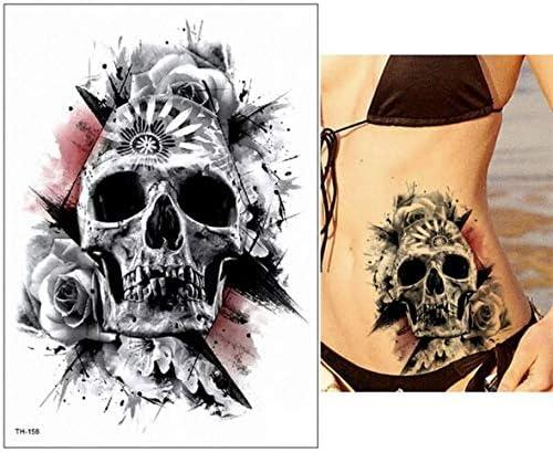 Zhuhuimin 5pcs Pulsera Samurai japonés Tatuaje Impermeable Tatuaje ...