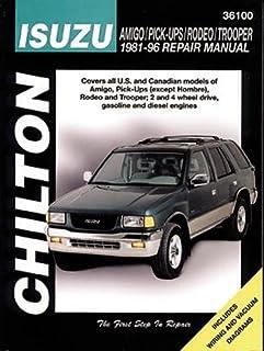 isuzu rodeo amigo honda passport automotive repair manual 1989 rh amazon com 1997 isuzu rodeo owners manual pdf 1997 isuzu rodeo repair manual pdf