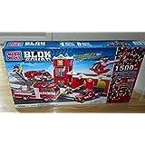 Mega Bloks Blok Squad Fire Station Set 24038 with Bonus Bricks (1512 pcs)