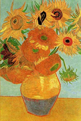 Still Life: Vase with Twelve Sunflowers by Vincent van Gogh Journal (12 Sunflowers In A Vase Van Gogh)