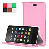 Exact Samsung Galaxy S5 Active Case [BillFOLD Series] - Premium PU Leather Wallet Case for Samsung Galaxy S5 Active (for SM-G870A Water and Shock Resistant Model) Pink