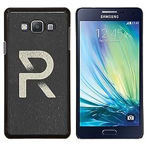 LECELL--Funda protectora / Cubierta / Piel For Samsung Galaxy A7 A7000 -- Art Style R Cartel retro --