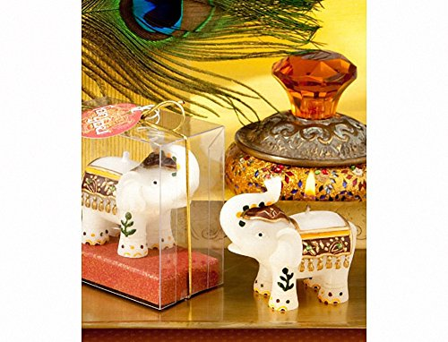 Good Fortune Elephant Candles , -