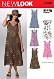New Look Sewing Pattern 6889 Misses Dresses, Size A (8-10-12-14-16-18)