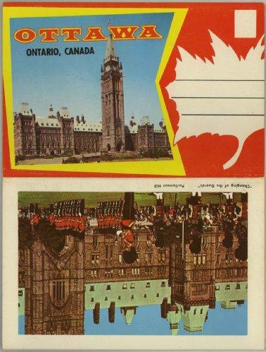 Ottawa Ontario Canada (1950's Souvenir Postcard Folder) #P90277