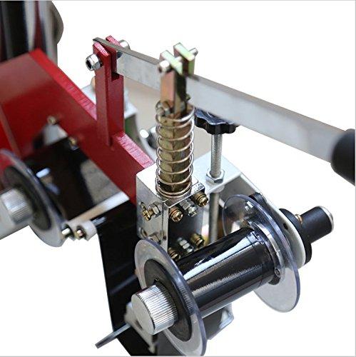 60W Manual hot stamping machine printing machine hot stamping tool thermal ribbon printer plastic bags Steel seal code 220V by YJINGRUI (Image #2)