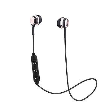 SamMoSon 2019 Auriculares Bluetooth Inalambricos Estereo Bluetooth,Auriculares Inalámbricos Bluetooth Auriculares Deportivos con Auriculares Estéreo para ...