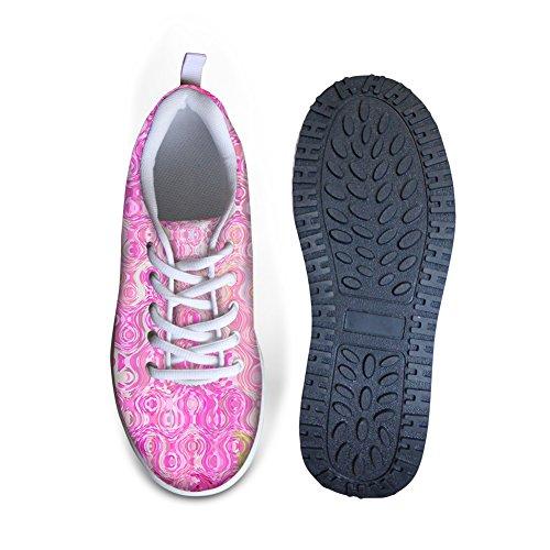 Bigcardesigns Shoes Lady Platform Lady Walking Bigcardesigns High Pink Multicolor vWHWqRUF