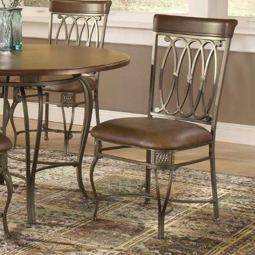 FURINNO Kansas Dining Chair 2Pc , Espresso