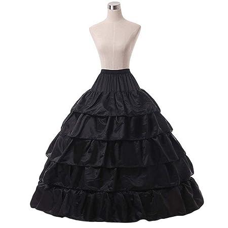 only y Falda Vintage de pétalos para Boda – Falda de Crinolina ...