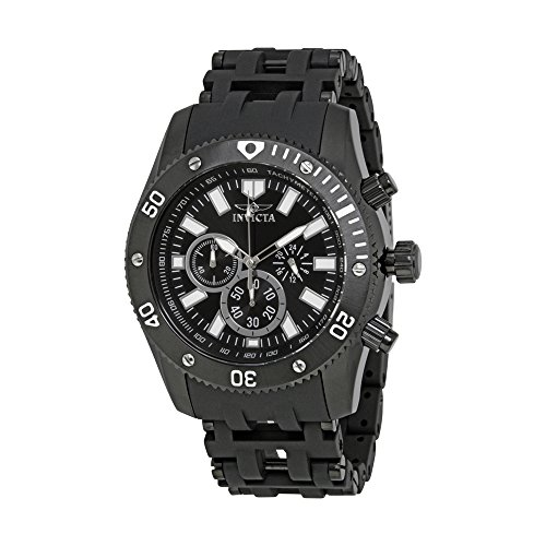 Invicta Men's 14862 Sea Spider Analog Japanese-Quartz Black Watch