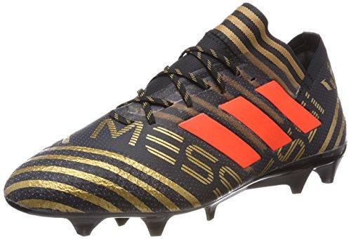 Nero Adidas Nemeziz Fg 1 tagome Calcio Da cblack Scarpe Messi solred 17 Uomo BgHqzwUBa