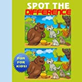 Spot The Difference: Puzzle Book for kids