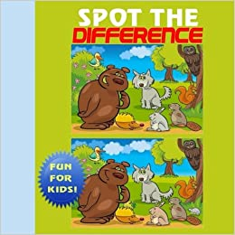 Spot the difference puzzle book for kids ciparum llc spot the difference puzzle book for kids ciparum llc 9781944741129 amazon books altavistaventures Choice Image