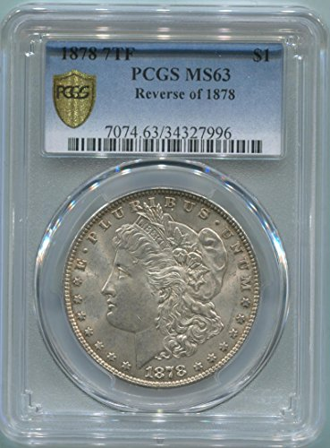 1878 P Morgan Dollar Dollar MS63 PCGS