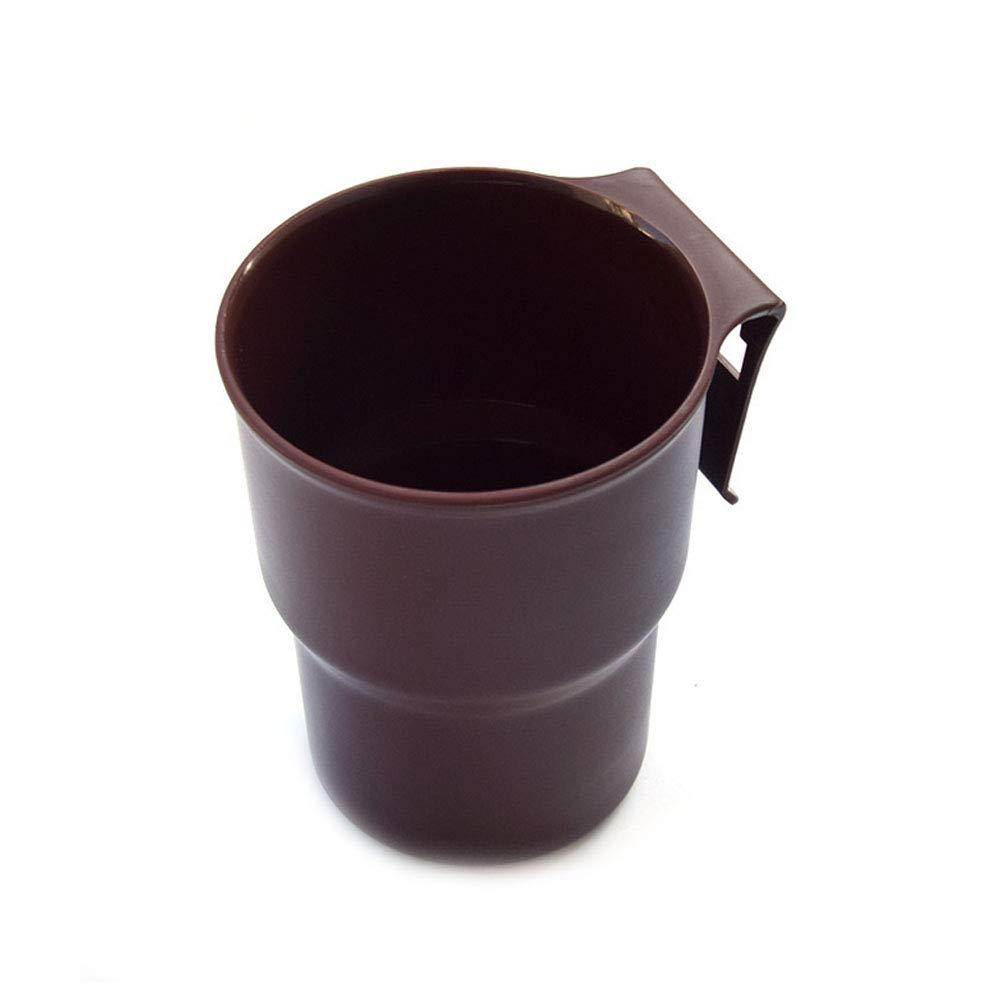 DDG EDMMS - Soporte para Botellas de Bebida, Multifuncional, con Clip de Salida para Coche, Color marró n Color marrón