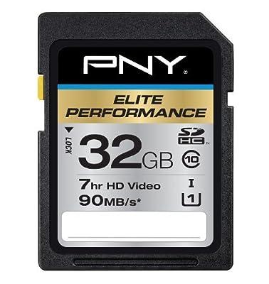 PNY SDXC Elite Performance UHS-1 90MB/sec