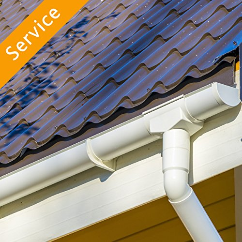 Gutter Replacement - Vinyl - Up to 40 Feet