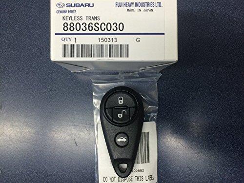 Genuine Subaru OEM Keyless Entry Remote Fob 2010-2014 Impreza Forester WRX STI