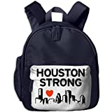Houston Strong Vector Preschool School Backpack Casual Lightweight Backpack With Pocket For Child