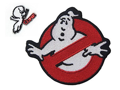 Embird Ghostbuster Movie Embroidered Iron On / Sew On Uniform Logo Patch ()
