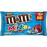 M&M'S Milk Chocolate MINIS Candy 3-lb. Bulk Candy Bag