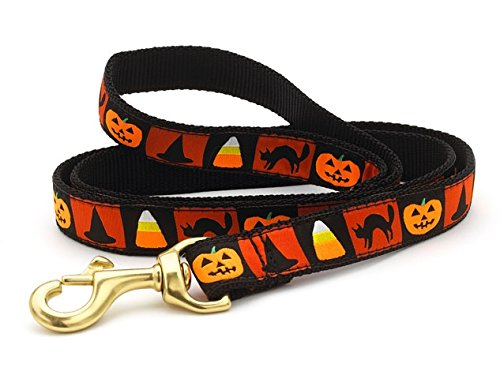 Up Country Halloween Leash Wide 6 Feet