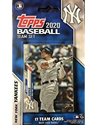 New York Yankees 2020 Topps Factory Sealed 17 Card Limited Edition Team Set with Aaron Judge, Gerrit Cole and Gary Sanchez Plus