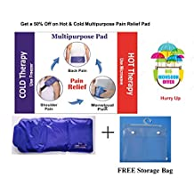 Hot & Cold pad heating pad & cooling pad Back Pain Menstrual Stomach pain Hot & Cold Pack back belt & stomach belt Heating Pad Packs Cooling Pad Back Pain Reliever Pad Best Hot & Cold Pad for Back pain Shoulder Pad Stomach Pad Waist Pain Reliever Back Support Pad