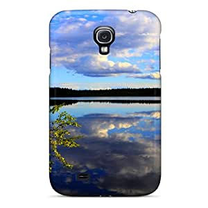 Galaxy S4 Cover Case - Eco-friendly Packaging(beautiful Lake View)