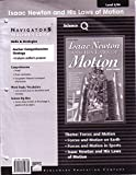 Isaac Newton and His Laws of Motion Teacher's Guide, Benchmark Education Company, LLC Staff, 1410852334