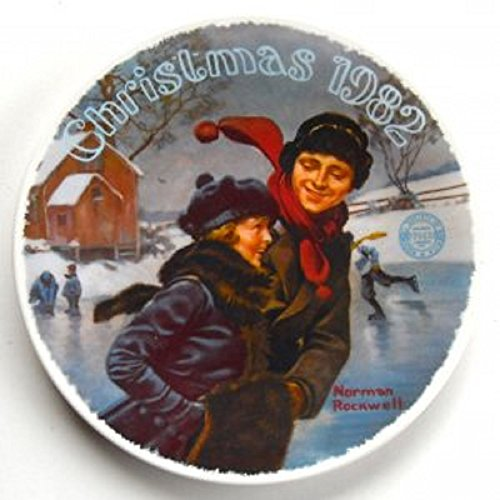 Edwin Knowles 1982 Christmas Courtship Collectors Plate ()