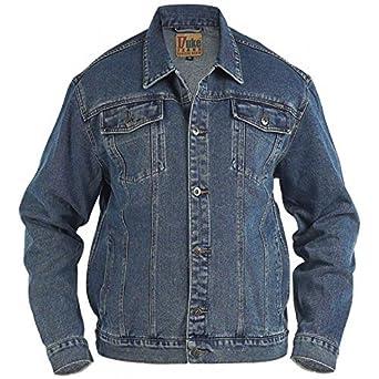 en jean veste bleu en 6L au Duke trucker veste westernstil jean F5HnqZ