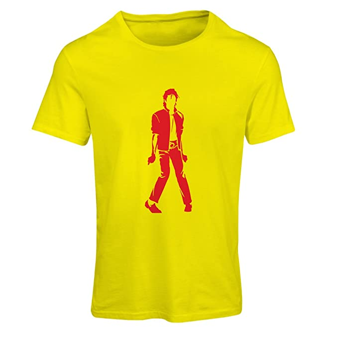 lepni.me Camiseta Mujer Me Encanta M J - Rey del Pop, 80s, 90s