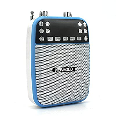 Newgood Portable Wired and Wireless Optional Professional Microphone Voice Amplifier Speacial For Teaching Coaches and Tour Guiding(F73) by Newgood