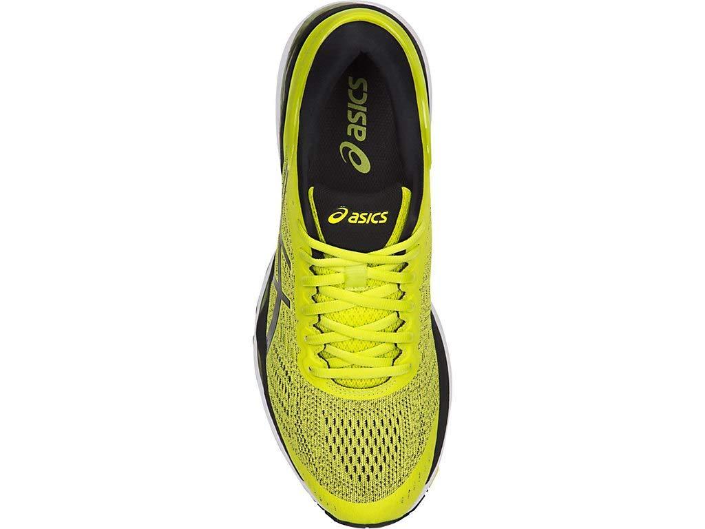 ASICS Men's Gel-Kayano 24 Running Shoes, 6M, Sulphur/Black/White by ASICS (Image #3)