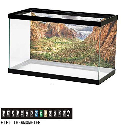 (Suchashome Fish Tank Backdrop National Parks,Utah Plateau Mojave,Aquarium Background,24